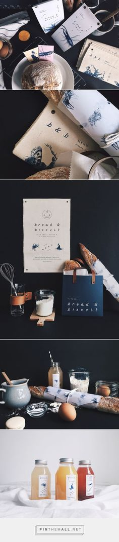 B&B Bread and Biscuit Branding on Behance