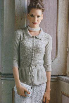 p. 46, Mani di Fata December 2013 (knitting pattern)