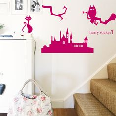 Halloween на Sees-All-Colors. Наклейки на стену Wall Decal Sticker
