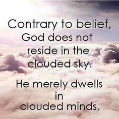 Clouded minds