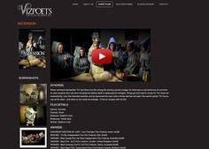 Vizpoets Entertainment  Web Site by Scorched Media - www. scorchedmedia.com.au Brisbane, Portfolio Web Design, Entertainment, Entertaining