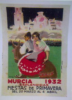 MURCIA- Fiestas de primavera 1932