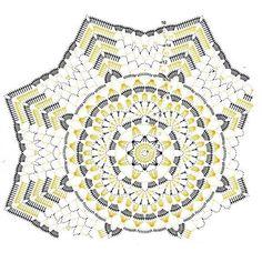 #схемасалфетки #салфеткакрючком #crochetdoily #doily #doilyscheme Crochet Stitches Chart, Crochet Doily Diagram, Crochet Doily Patterns, Filet Crochet, Crochet Motif, Crochet Designs, Crochet Doilies, Crochet Flowers, Crochet Books