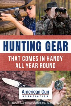 Here are some of the hunting gear items that come handy all year round! #hunting #huntinggear #huntingweapon #hunter #gunassociation Hunting Gifts, Hunting Gear, Deer Hunting, Long Range Hunting, Rifle Sling, Ear Protection, All Year Round, Tactical Backpack, Survival Life