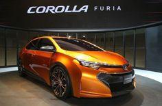 Toyota Corolla Furia Concept car - review