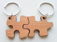 2 Wood Matching Puzzle Keychains -You & Me a Perfect Match; Couples Keychain, wood gift for 5 year anniversary, Jewelry Everyday http://www.amazon.com/dp/B013HIX17A/ref=cm_sw_r_pi_dp_WBTXvb0558A0Q