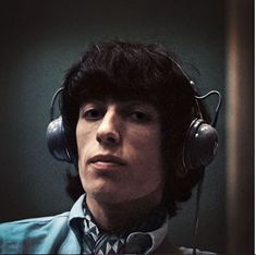 Bill Wyman at Olympic recording studios in Rock N Roll, The Americans Tv Show, Bill Wyman, Los Rolling Stones, Rollin Stones, Vinyl Record Collection, Science Guy, Mick Jagger, Sound Of Music