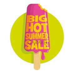 Αυτοκόλλητα εκπτώσεων Summer Sales