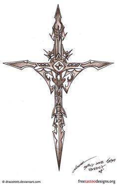http://www.freetattoodesigns.org/gothic-tattoos.html