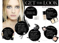 """Get The Look: Grey Eye w/ Chanel Products"" by intriguingaffair ❤ liked on Polyvore"