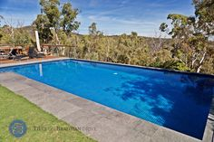 Pool Ideas, Tiles on Bradman (Ocean Deep)