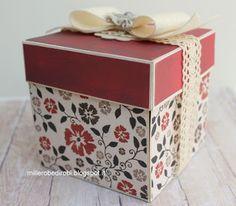 Robe di Robi: Explosion box per un compleanno speciale