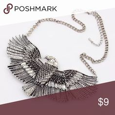 Eagle necklace New in packaging. Silver. Alloy metal. No trades or offers! Jewelry Necklaces
