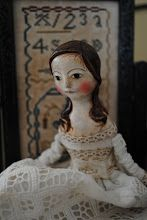 art doll ...paper-clay cloth doll