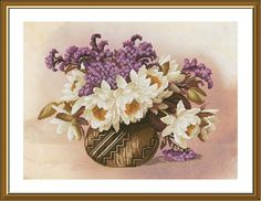 Bouquet for You Cross Stitch Kit