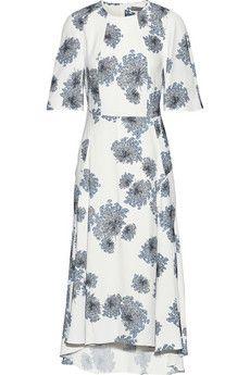 Mulberry Floral-print crepe dress | NET-A-PORTER