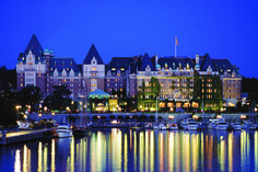 Fairmont Empress - Hotel - Canada -British Columbia - Victoria. CLICK IMAGE BOOK YOUR VACATION TODAY!