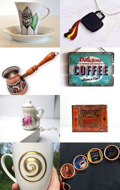 Coffee break by Stefanie on Etsy--Pinned with TreasuryPin.com