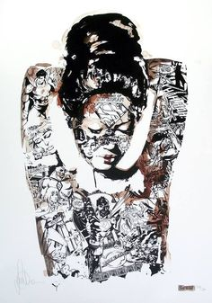 The distinctive work of Sandra Chevrier strikes again!