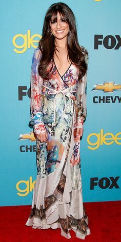 Look of the Day - April 15, 2010 - Lea Michele in Etro