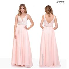 ffb312fc1c CK0349 - This soft elegant dress can be worn at any occasion with the lace  bodice