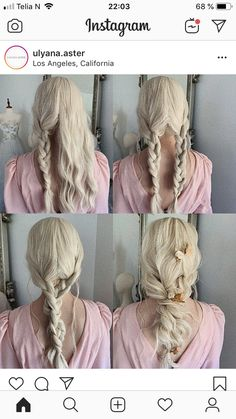 We always get a lot of inspiration from DIY wedding ideas and today we get in this post in wedding hairstyles. No matter your hair is long or short, your Diy Wedding Hair, Long Hair Wedding Styles, Wedding Hairstyles For Long Hair, Elegant Hairstyles, Wedding Hair And Makeup, Bride Hairstyles, Pretty Hairstyles, Bridal Hair, Hair Makeup
