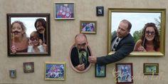 DIY Wedding Photo Booth Prop Wall @ A Flexible Life