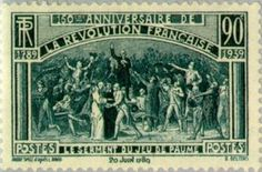 150th Anniversary of the Revolution: the oath of the Jeu de