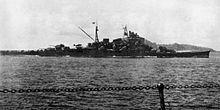 Crucero pesado Maya en su última congfiguración de 1944