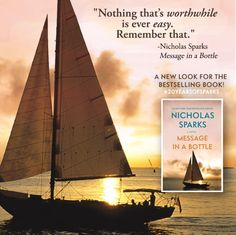 New digital cover for Message in a Bottle! The Longest Ride, Walk To Remember, The Last Song, Dear John, Nicholas Sparks, Safe Haven, Message In A Bottle, Screenwriting, 20 Years