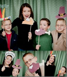 Thanksgiving Family Photo Booth - Simplified Bee
