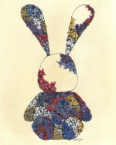bunny: beautiful illustration by lisa chow #illustration