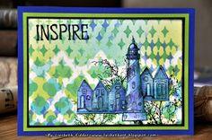 Liesbeth's Arts & Crafts: Art Journey challenge 65 : Templates