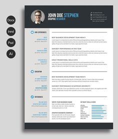 Resume template ethan ms word easy to edit instant download resume template ethan ms word easy to edit instant download mac or pc pinterest template and creative resume templates yelopaper Images