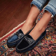 Introducing our velvet Talia loafer, a #FW16 collection favorite. Shop the style now by tapping link in bio! #SamEdelman