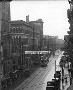 Richmond Street, looking north from just south of York St - c 1922 source - California Archives #ldnont