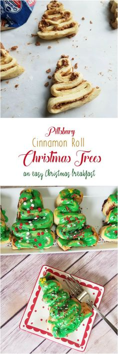 Pillsbury Cinnamon Roll Christmas Trees by Rumbly in my Tumbly