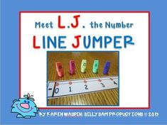 This FREEBIE includes a Make it Yourself Number Line and Program ideas for teaching Number Line Jumping. This is a fantastic way to demonstrate to . Teaching First Grade, First Grade Math, Teaching Math, Teaching Ideas, Second Grade, Math Resources, Math Activities, Kindergarten Math, Elementary Math