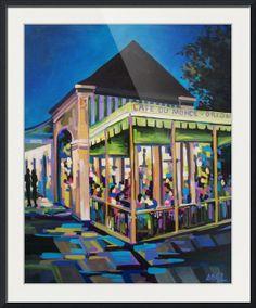 """Cafe Du Monde"" by Elaine Adel Cummins"