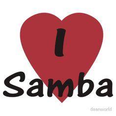 I Love Samba - Dance T-Shirt
