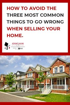 Selling your house can be a really exciting time for you and your family, especially during the final stage of the process, the closing! Everything Goes, Selling Your House, Close To Home, Good Times, Anxiety, To Go, Stress, Mansions, House Styles