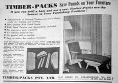 Timber-Pack Furniture designed by FredWard c.1952.
