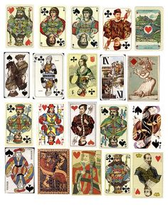 free playing card printable from Mary of PaperScraps (found thanks to maybemej)