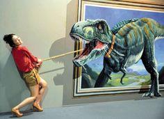 3D paint art