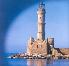LIGHTHOUSE CHANIA CRETE |LIGHTHOUSE IN GREECE