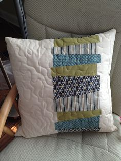 Chopped Vegetable pillow number 1