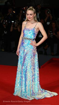 Dakota Fanning at Venice Film Festival
