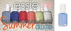 Essie's 2015 #Summer Collection of six nail polishes is not only chic and on trend color wise, but they are also quite pigmented, non-toxic and long lasting.  #stylish #fashion #summerlook