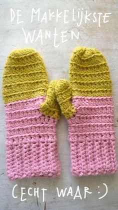 Easy mittens..   ingthings   Bloglovin'