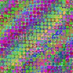 Rainbow In Colored Glass Repeat Pattern Repeating Patterns, Vector File, Colored Glass, Polka Dots, Rainbow, Rainbows, Rain Bow, Polka Dot, Dots